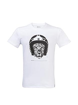 Exklusiv Helmets Camiseta Manga Corta Leopard