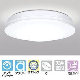 【クリックで詳細表示】NEC 小型シーリングライト 蛍光灯28W 昼光色 3LK615SG: ホーム&キッチン