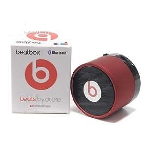 Beats Mini Beat Box Bluetooth Speakers Red