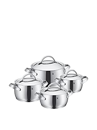 WMF Concento Cookware Set Of 8, Stainless Steel Grey