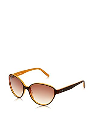 Rodenstock Sonnenbrille R3268 (55 mm) schokolade/orange