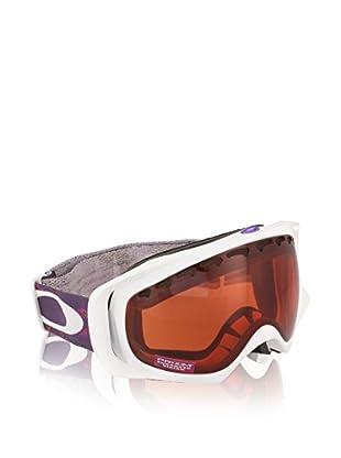 Oakley Máscara de Esquí Crowbar Mod. 7005N Clip Blanco / Morado