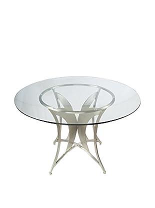 Armen Living Drake Modern Dining Table, Multi