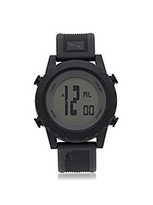 Puma Men's PU911071001 Black/Grey Stainless Steel Watch