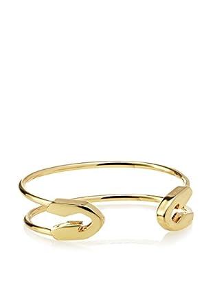 Fragments Gold Safety Pin Bracelet