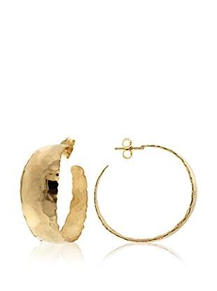 ETRUSCA Ohrringe 3 cm goldfarben