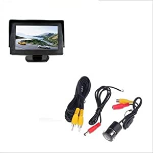 """Branded 4.3"""" LED TFT Monitor With Night Vision Reverse Parking Camera"""