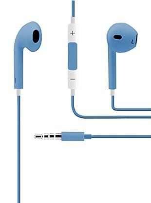 Unotec Kopfhörer mit Mikro All blau