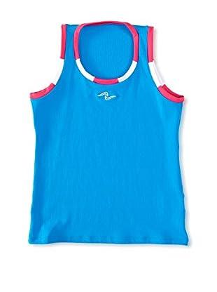 Naffta Camiseta Niña (Turquesa / Fucsia)