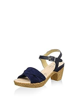 Bata Touch 6669203 Sandali con cinturino alla caviglia, Donna, Blu, 36