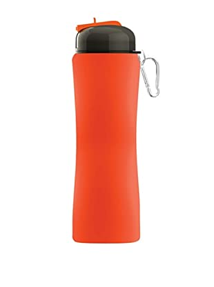 AdNArt Sili-Squeeze Hydra Bottle with Sport Lid (Orange)