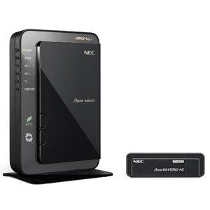 【クリックで詳細表示】日本電気 AtermWR9500N[HPモデル] USBスティックセット PA-WR9500N-HP/U