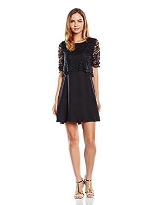 RARE LONDON Kleid Lace Layered