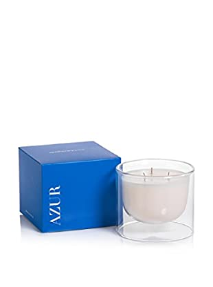 Zodax Apothecary Guild Azur Small Suspended Candle Jar, Sapphire Blue