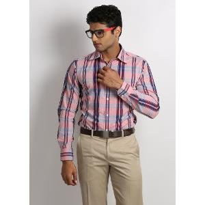 Inego Men's Formal Shirt - Multicoloured