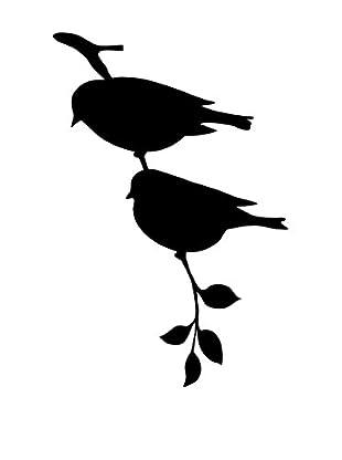 Ambiance Sticker Wandtattoo Mini Sticker Birds On Tree Stick