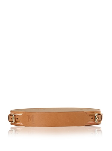 M Missoni Women's Two Buckle Belt (Beige/Pink)