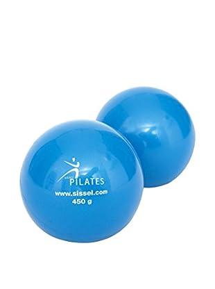 Sissel Palla da Pilates Set x2 Azzurro
