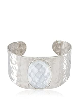 Lucy Steel Armband Pearl