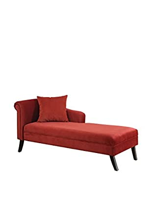 Shop by room the living room dlh designer looking home for Armen living patterson chenille chaise lounge