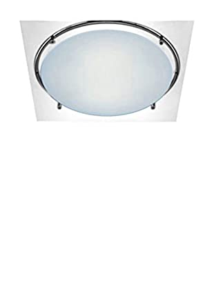 Leucos Wand- und Deckenlampe Mey 45 metallic/kristall