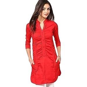 Sukuma Sassy Look Red Tunic