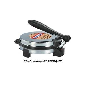 Chefmaster CLASSIQUE Chappathi / Roti / Tortilla Maker - CM03