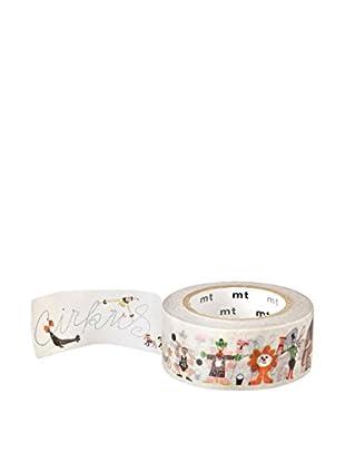 mt Masking Tape Circus Decorative Tape, Multi, 32.8 ft.