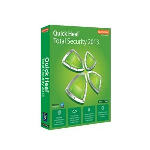 Quickheal Total Security 2013 - 1 User 3 Year