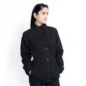 Numero Uno Black Full Sleeves Women's Jacket