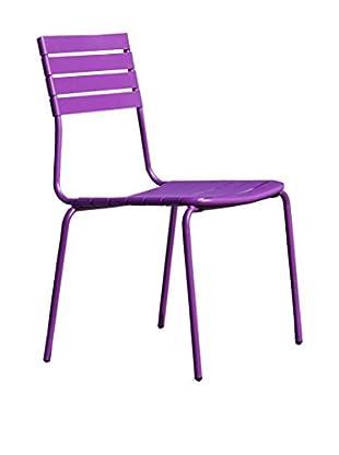 Contemporary Living Stuhl 4er Set lila