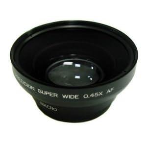 【クリックで詳細表示】Amazon.co.jp|【ロワジャパン】 0.45倍 マクロ ワイド コンバージョン レンズ 【40.5mm】ポーチ付|カメラ・ビデオ通販
