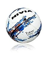 Nivia Trainer Football, Size 5 (White)