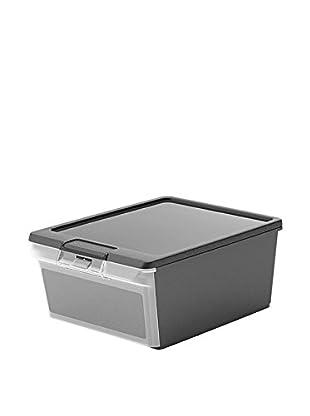 Kis Set Caja de Almacenamiento 5 Piezas Twin Box M Negro