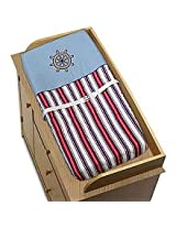 Nautical Nights Sailboat Boys Changing Pad Cover by Sweet Jojo Designs