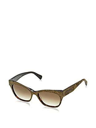 Alexander McQueen Sonnenbrille AMQ4261/S (55 mm) havanna