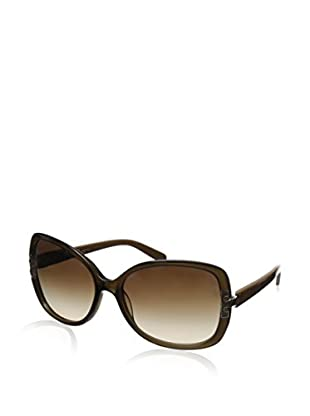 Tory Burch Women's TY7022 Olive/Brown Gradient Lens Sunglasses