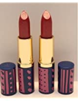 New! 2 X Estee Lauder Pure Color 54 Passion Fruit Shimmer Crystal Lipstick