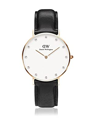 Daniel Wellington Reloj con movimiento cuarzo japonés Woman Classy Sheffield 34 mm