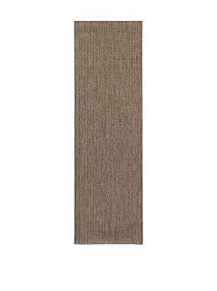 ABC Teppich  braun 60 x 200 cm
