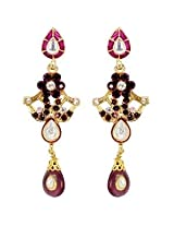 Austrian Diamond Earrings By Sanskruti