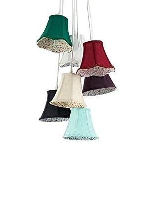 ET2 Contemporary Lighting Lámpara De Suspensión Bells Multicolor