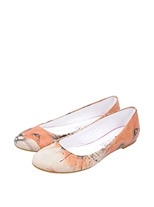 Dogo Shoes Bailarinas The Enigmatic Fox (Beige)