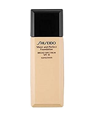 Shiseido Base De Maquillaje Líquido Sheer and Perfect 140 18 SPF  30 ml