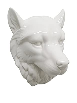 Three Hands Wolf Ceramic Wall Décor