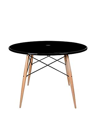 LO+DEMODA Mesa Auxiliar Tower Negro