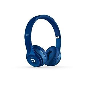 Beats Solo2 Wired On-Ear Headphone - Blue