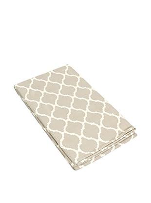 Glam Home Teppich Saman taupe/weiß