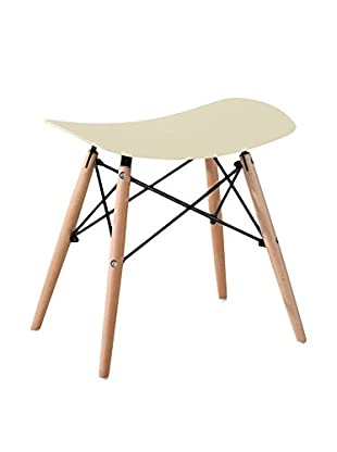 LO+DEMODA Set Taburete 2 Uds. Creta Wood H47Cm Crudo