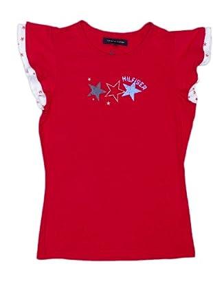 Tommy Hilfiger Camiseta (Rojo)